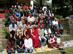 My Tushita Class in April 2012
